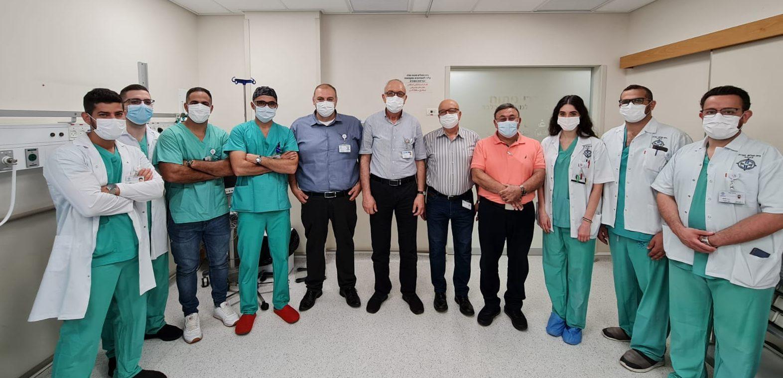 דר' ויסאם חסיב עבוד מצטרף למשפחת בית חולים נצרת